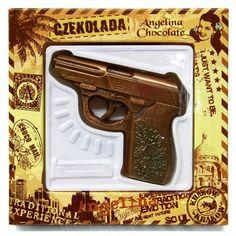 #Chocolate #gun #Walter #angelinachocolate