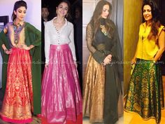 Indian Long Skirts and Tops