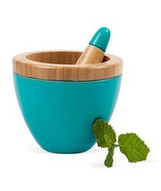 Core Bamboo Modern Mortar and Pestle: Yet another reason to make homemade guac tonight.
