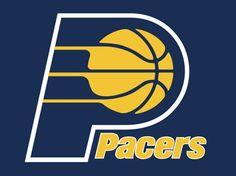 Indiana Pacers Logo http://www.nba.com/pacers/ http://pinterest.com/nbadraftboss