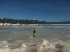 Shaver Lake in Winter