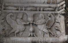 Декоративные рельефы Дворца Дожей в Венеции