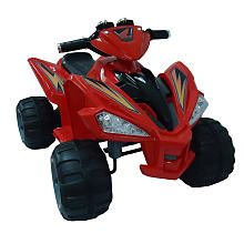 Boys Honda 12 Volt Super Quad ride on - Red
