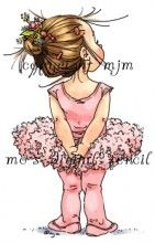 The Image I used in my video 'cute ballerina card'  I will link that separately :-)