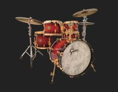 USA Custom Drums and Drum Sets (Gretsch Drums) Gretsch! I had a 40's Gretch set - I could kick myself for selling it.