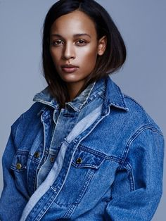 double time! really feeling the layered jean jackets…