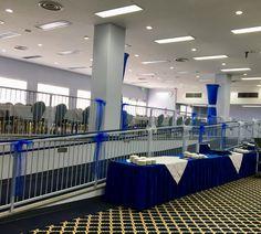 Air Force Ball 70th Anniversary setup