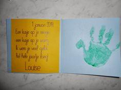 nieuwjaarsbrief baby 1 jaar - Google zoeken