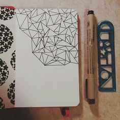abstract lines~ notebook idea