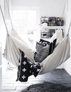 Fashionable interieur - hammock
