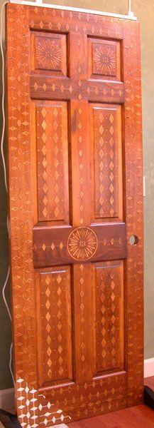 Wood Icing Diamond Door