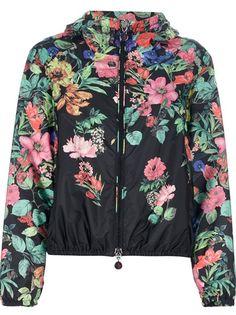 MONCLER Multi-Coloured Floral Jacket