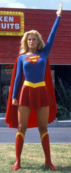 Supergirl (Helen Slater) even directs traffic! (1984).