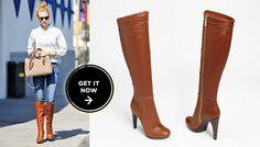 Rachel Zoe Cognac Chloe Boots