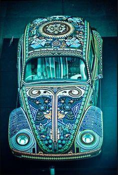 Modified Volkswagen Beetle - Pin X Cars Auto Volkswagen, Vw T1, Volkswagon Bug, Vw Modelle, Design Autos, Kdf Wagen, Aqua, Teal, Vw Vintage