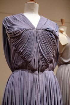 Madame Grès. I love her. She's such a talented designer. Her drapes were the reason why I took up a class in Basic Draping. lol