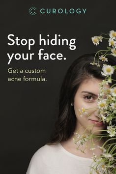 Curology is the only customized acne care solution made for your individual skin. Try it for free today -- just cover shipping.