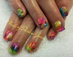 Summer Gel Nails by Darlene Jones