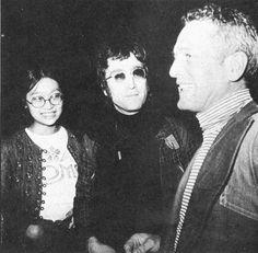 John with Paul Newman