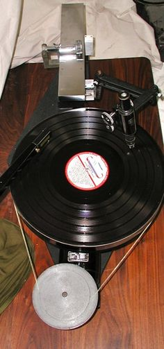 western electric universal record lathe turntable