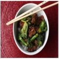 beef with broccoli stir fry  THIS IS GREAT- scottie We added loads of fresh mushrooms too