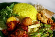 Yellow Rice [Nasi Kuning]