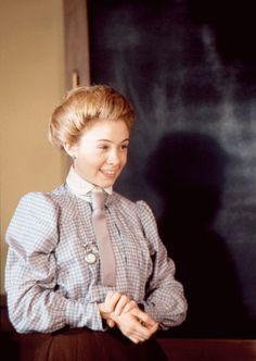 Megan Follows as Anne Shirley in Anne of Green Gables: The Sequel (1987).