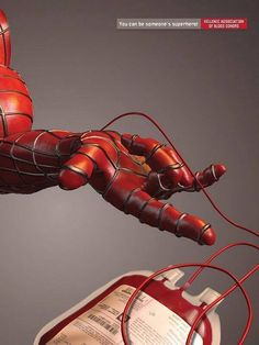 Hellenic Association of #BloodDonors - Spidey #BloodDonation #BeAHero