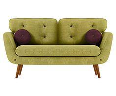 """Sofa """"Alva"""", zielonofioletowa"""