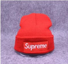93949135e94 Hot Sale Supreme Wool hat men and women sets the first winter hat knitted  hat