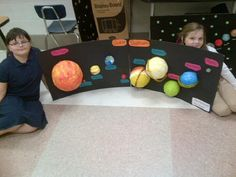 Planets in Solar System Paper Plates