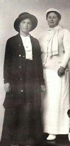 Grand Duchess Olga Nikolaevna Romanova of Russia Anna Vyrubova
