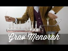 Grav Labs made this Menorah Bong to help stoners celebrate Hanukkah. We decided to make a sweet video with it. You're welcome! (0:38)