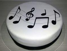 Music Themed Cakes, Music Cakes, Bolo Charlotte, Birthday Desserts, Birthday Cake, Fondant Cakes, Cupcake Cakes, Cupcakes, Bolo Musical
