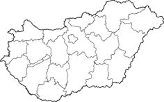 File:Hungary map with Balaton. Nursery School, Travel Maps, Earth Day, Preschool Activities, Vignettes, Wikimedia Commons, Science, Education, Nature