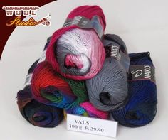 We love getting in new yarn, such as this colourful gorgeous #Nako Vals yarn, now available at #WoolStudio! #YarnAddicts