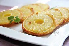 Ciastka francuskie z ananasem, ciasto francuskie, ciastka z ananasem, http://najsmaczniejsze.pl #ananas, #ciastka #cookies