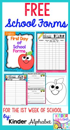 First Day of School Lesson Plans, Ideas and Freebies