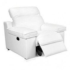 Weiß Sessel Stuhl   Weiße Recliner Chair : Holen Sie Sich Eine Charmante  Atmosphäre Mit Neuen