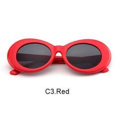 7170d0b73e4f New fashion Women Oval Sunglasses NIRVANA Kurt Cobain Sunglasses Men Vintage  Retro Female Male Sun Glasses Women s Glasses Type  SunglassesItem Type  ...
