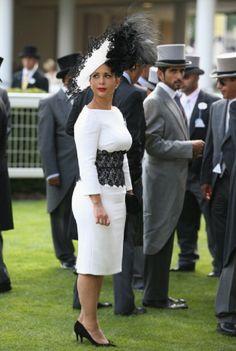 Princess Haya Bint Al Hussein of Jordan attends day three of Royal Ascot 2014