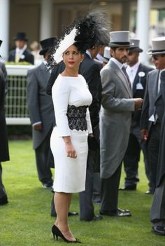 Princess Haya Bint Al Hussein of Jordan attends day three of Royal Ascot 2014