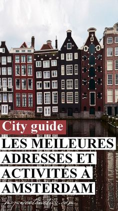 Here is a fantastic idea for your Amsterdam travel: the best way to see the whole city of Amsterdam is to take a trip by bike. Lloyd Hotel Amsterdam, Victoria Hotel Amsterdam, Amsterdam City, Amsterdam Travel, Medan, Road Trip Pays Bas, Week End En Europe, Amsterdam Guide, Week End En Amoureux