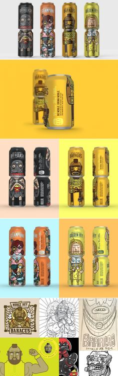 Noble Rey Brewing Company — The Dieline | Packaging & Branding Design & Innovation News