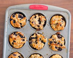 Bumbly-Topped Blueberry Muffins. Gluten Free & Classic Versions. Gluten Free Desserts, Vegan Desserts, Gluten Free Recipes, Vegan Recipes, Dessert Recipes, Vegan Gluten Free Breakfast, Vegan Muffins, Blue Berry Muffins, Vegan Snacks