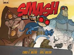 Whap! Thud! Crash! An action-packed graphic novel simultaneously spoofs and pays tribute to superhero lore while inspiring a new generation of crimefighters. Ka-boom! Clobbered by fallout from a blast