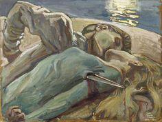 Akseli Gallen-Kallela: Rakastavaiset, 1906–1917.