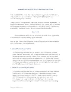 Specifications on the prohibitions are indicated to maintain the flow of web and server traffic. 11 Hosting Contracts Ideas Contract Contract Template Legal Contracts