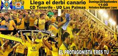FOTOS | Afición amarilla en CD Tenerife - UD Las Palmas.