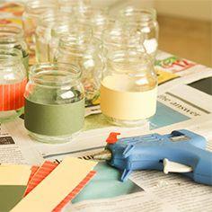 DIY Magnetic Spice Jars